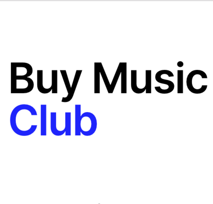Buy Music Club #1 | All my Friends are on Acid